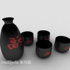 Chinese Style Wine Bottle Collection