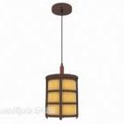 Lampu Candelier Kayu Cina