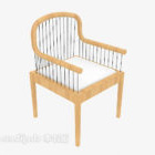 Chinese Wooden Armrest Chair