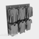 Sklep odzieżowy z ubraniami