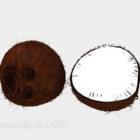 Slice Coconut Fruit