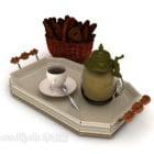 Kahvikuppilautasruoka