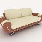 Kolorowanka podwójna sofa