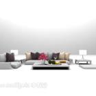 Combinazione di mobili per divani di grandi dimensioni