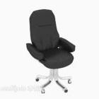 Chaise d'ordinateur confortable dos à dos
