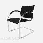 Company Black Armrest Office Chair