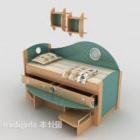 Pojedyncze łóżko kompozytowe