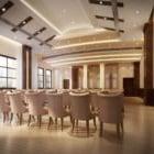 Sala conferenze Set completo di mobili interni