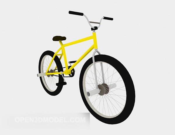 Cool Bike Yellow Paint