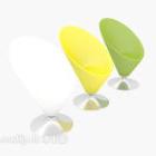 كرسي صالة الإبداعية متعدد الألوان