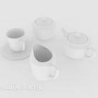 Drinking Tea Cup