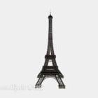Eiffeltornets stålbyggnad