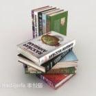 Englischer Bücherstapel