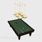 Tavolo da biliardo di intrattenimento