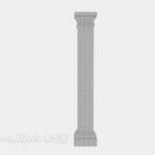 Europäische römische Säule