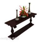 طاولة جانبية كلاسيكية كلاسيكية أوروبية كلاسيكية