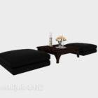 Dvärgkollaps Enkel soffa europeisk