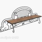 European Exquisite Casual Bench