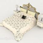 Europeisk Fancy Bed