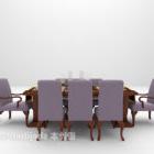 European Gorgeous Table Chair