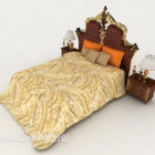 European Home Gorgeous Retro Double Bed