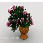 European Home Vase Flower Plant