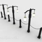 ヨーロピアンスタイルの街路灯
