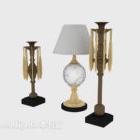Installazione europea della lampada da tavolo