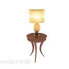 الجدول الأوروبي مصباح طاولة جانبية