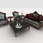 Sofa europejska w stylu vintage