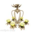 Exquisite Lotus Chandelier
