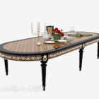 Exquisite Solid Wood Dining Table