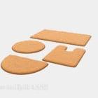 Tygmatta Olika formade förpackningar
