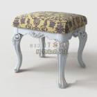 Tabouret confortable antique