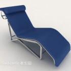 Första Hit Blue Lounge-stol