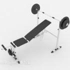 Træningsudstyr til fitnessvægtløftning