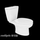Spola Toalett Vit Sanitär