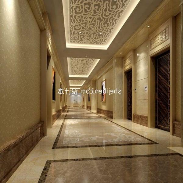 Hotel Lobby Luxury Decor Interior