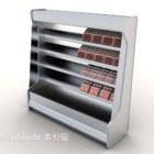 Scaffale Congelatore In Supermercato
