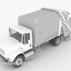 Veicolo per il trasporto di camion della spazzatura