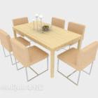 Sedia da tavolo da giardino fresca