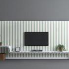 Mobile porta tv con motivo a strisce