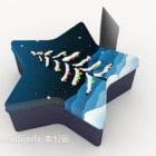 Gift Box Star Shaped