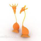 Decorazione da tavolo figurine giraffa