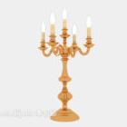 Złoty europejski świecznik