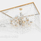 Gorgeous Square Crystal Chandelier