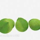 Grüne Mangofrucht