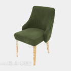 Green Back-up Lounge Chair