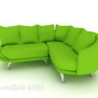 Sofa Minimalis Fabrik Hijau