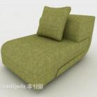 Canapé paresseux moderne vert